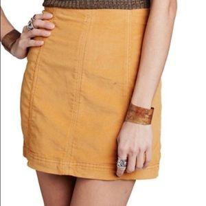 Free People Modern Femme corduroy skirt
